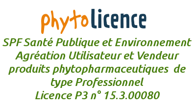 Agréation Phytolicence P3 Phytopharmaceutique professionnelle